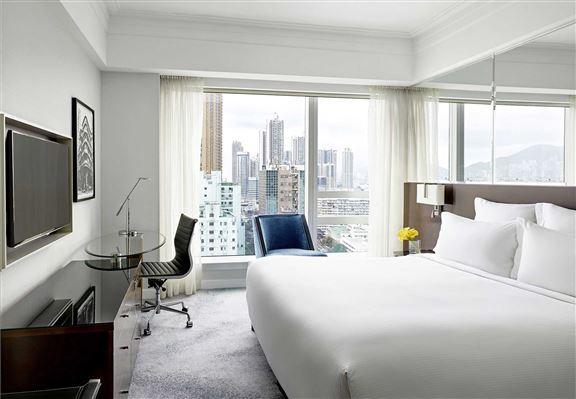 客房設計簡約時尚,開揚舒適。