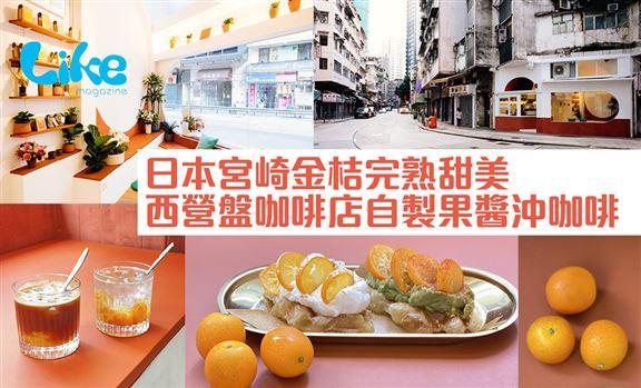 日本宮崎金桔完熟甜美│西營盤咖啡店自製果醬沖咖啡