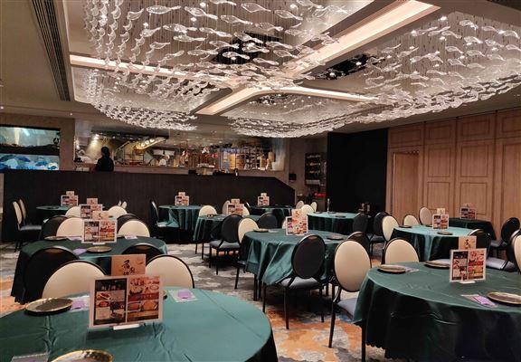 東海薈室內裝修時尚典雅。