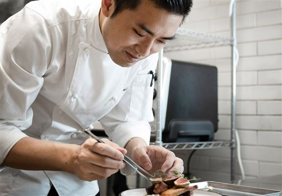 主廚Jeff 曾在南法米芝蓮二星餐廳學藝。