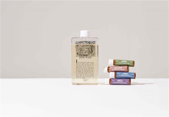 PIBU PIBU另有推出沐浴露,同樣係配搭兩瓶活萃功能安瓶,加強護理皮膚嘅功效。