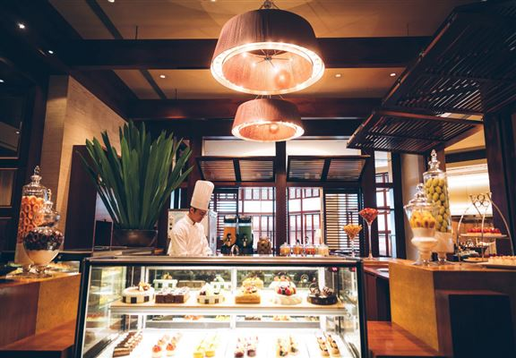 尖沙咀凱悅酒店咖啡廳出品嘅糕餅甜品向來甚有水準。