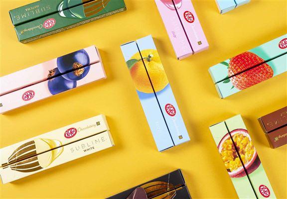 KITKAT Chocolatory朱古力共有14款口味,全部由日本直送香港。