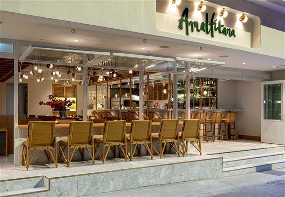 著名薄餅名店Amalfitana終在中環開設第二分店。