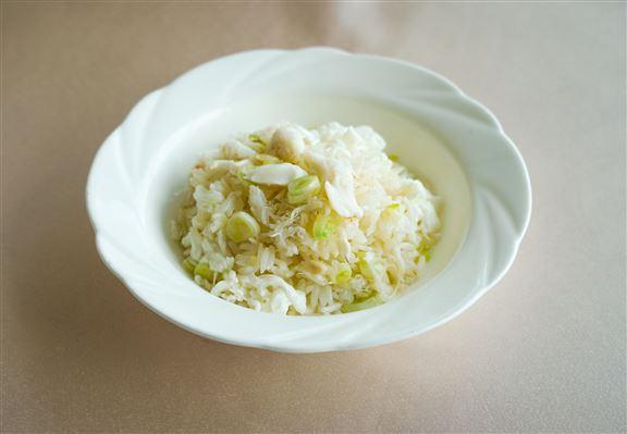 蟹肉蛋白炒飯