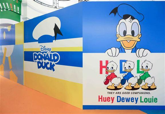 想影全家幅,有齊唐老鴨、Huey、Dewey 及Louie,呢個位啱晒!