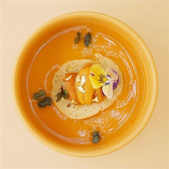 黃金海膽湯