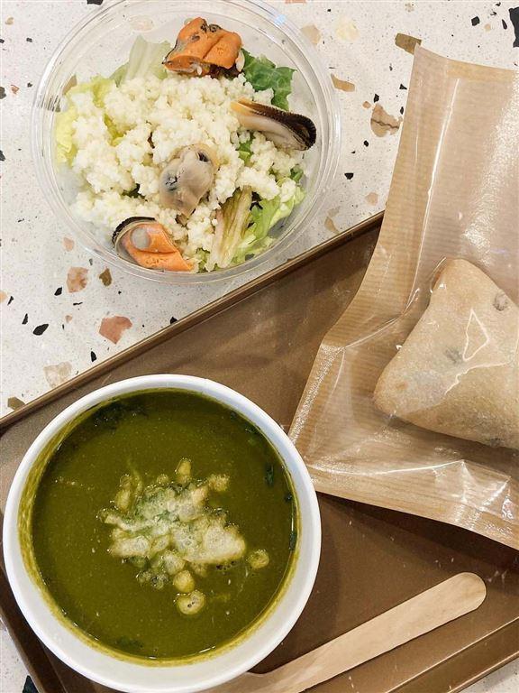 「壹杯SUPU」主打市場上少有嘅西式濃湯輕食套餐。
