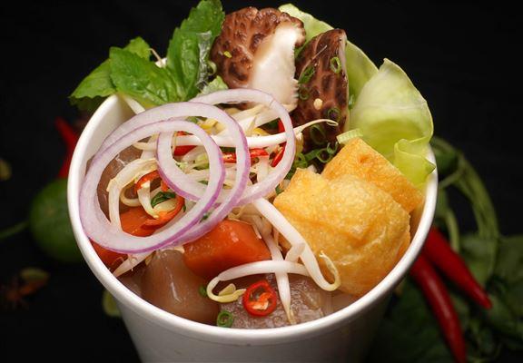 阮氏素菜湯粉