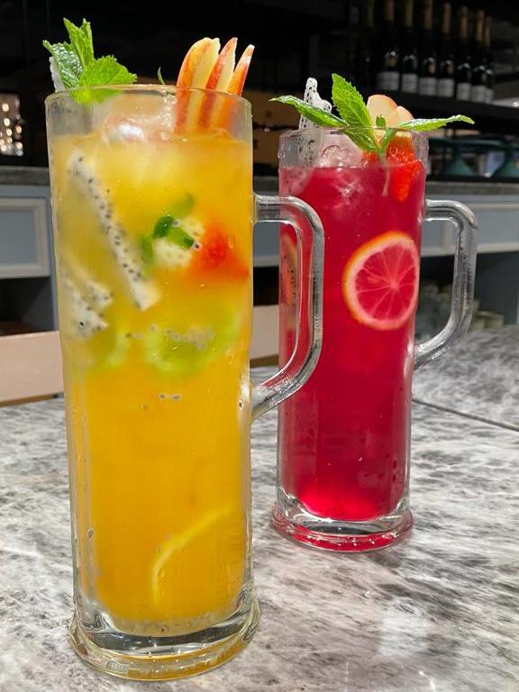 熱情果鮮果茶 / 紅菜頭鮮果茶
