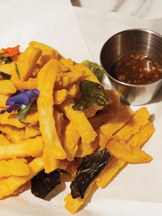 泰式鹹蛋黃金脆薯