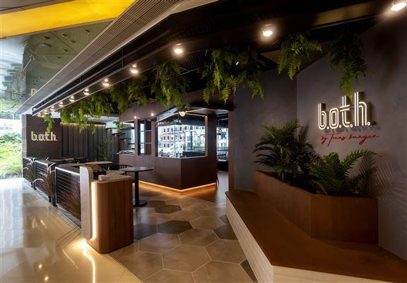 b.o.t.h. by Texas Burger今次在荃灣開新店,走精緻路線。
