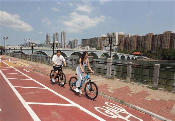 「新.沙田單車路線」,全長約30公里,來回只需2至3小時。