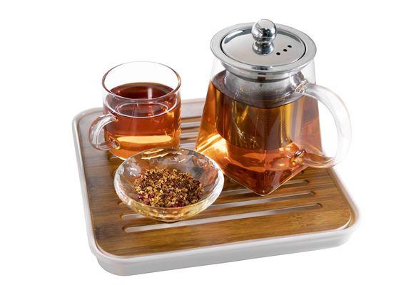 餃子店有一系列養生茶品清爽健怡又解膩。