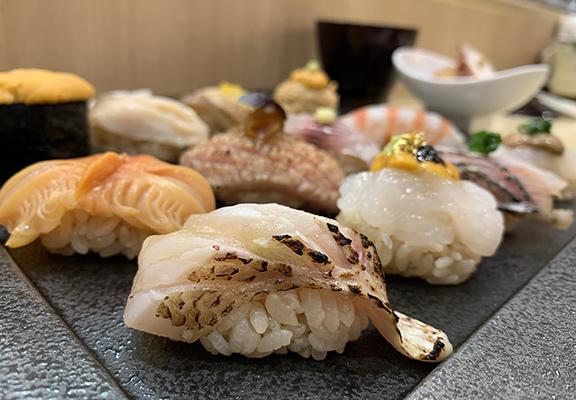 「神樂OMAKASE」共有18道菜豐富盛宴