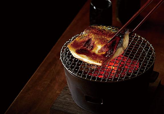 炭火鹽燒銀鯖魚$80