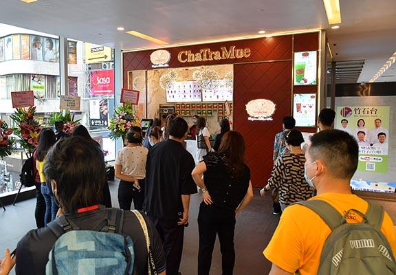 泰茶店Cha TraMue在中環開設新店。