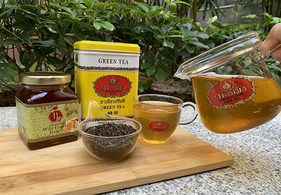 在家自製「泰國蜂蜜烏龍茶」,方法簡單。