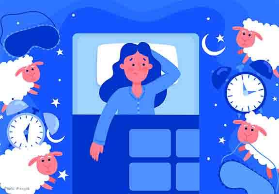 長期失眠影響生理及身理健康。