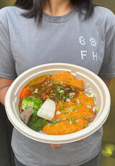 Hambāgā,主力供應客製日式自選口味丼飯。