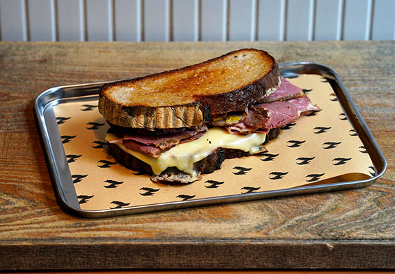 Pastrami & Swiss Sandwich $98