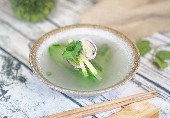 台式絲瓜蛤蜊湯 $28