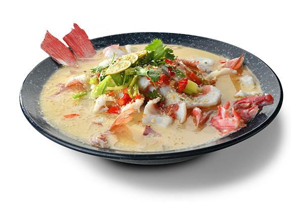 大中華飯店東星酸菜魚