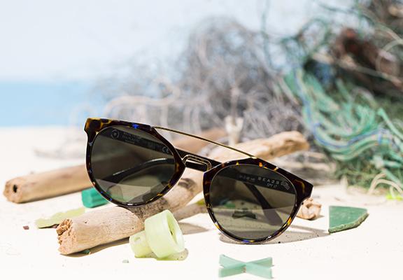 SEA2SEE太陽眼鏡在眼鏡行內屬使用再生海洋聚合物物嘅先驅。