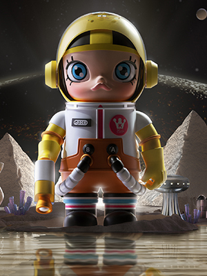 「MEGA珍藏系列 1000% SPACE MOLLY × 海綿寶寶」將於6月12日正式發售。 $6,099