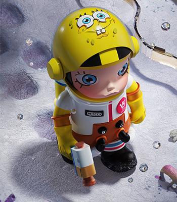 人偶嘅面罩及手臂均可動,手上嘅太空攝影槍及頭盔亦可以取下,具有豐富可玩性。