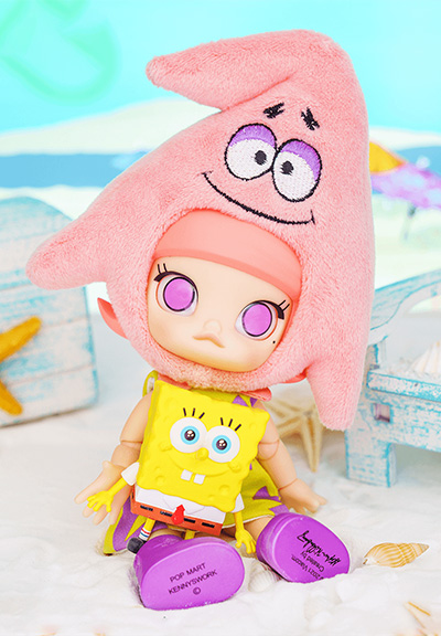 「MOLLY × 海綿寶寶- 派大星BJD(可動人偶)」$599