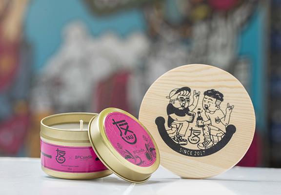 限定禮品:木製杯墊及香薰蠟燭