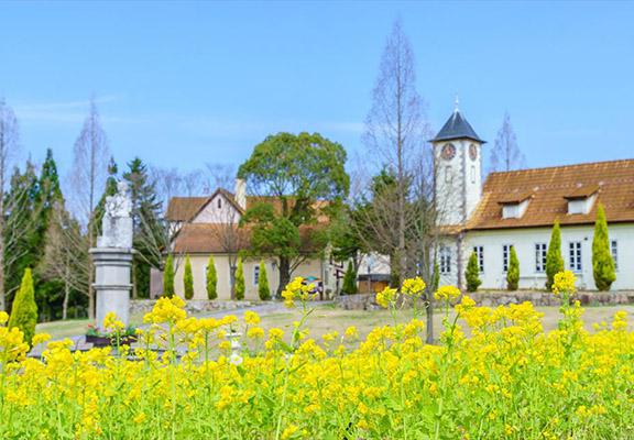 公園以中世紀德國農村為主題。