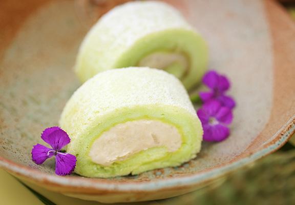 班蘭榴槤蛋糕甜而不膩。