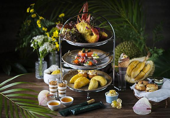 飄香榴槤下午茶加碼推出,食物更豐富。