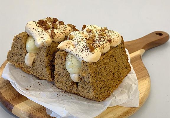 「 A Littlemoment Pastry」主打麻糬蛋糕三文治,無添加色素、人造香料或防腐劑。