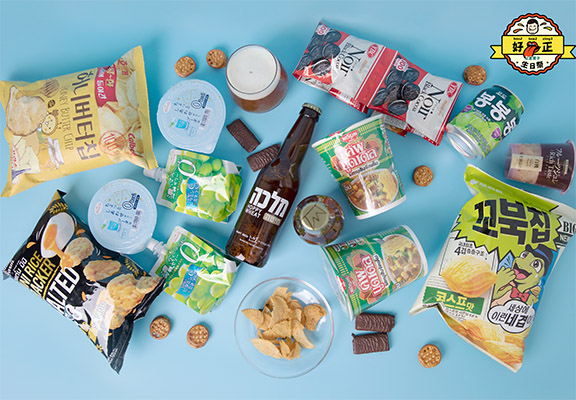「上倉胃子」連續4周推出不同主題「精選零食系列75折」優惠。
