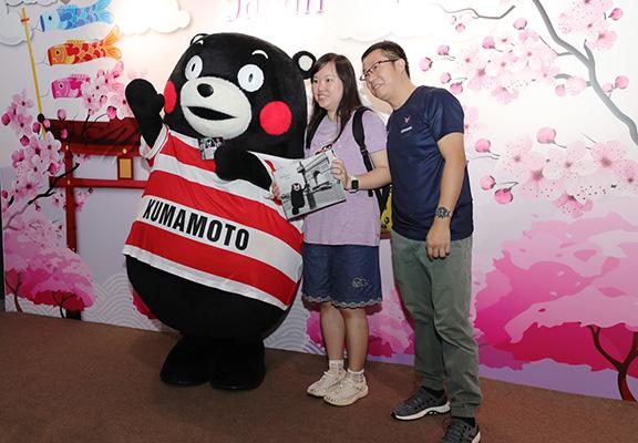 喜歡去日本旅遊嘅人可在全場內可找到最新日本旅遊資訊。