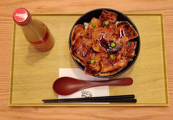 (右)稀有豚腩丼 $88(並盛)/ $108(特盛)