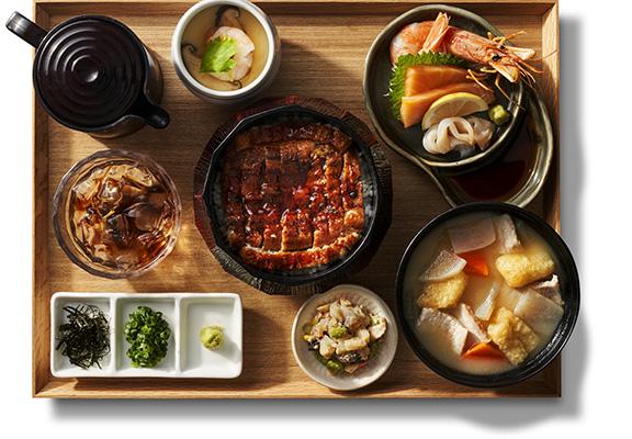 鰻魚三味御膳 $168