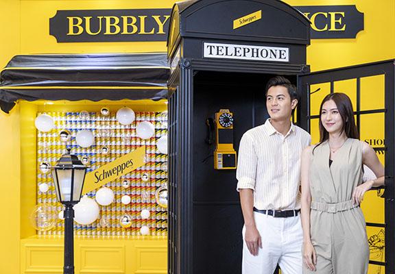 走進黑色電話亭,仿佛置身歐洲街頭。
