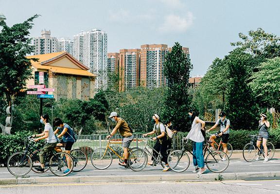 限定咖啡店內陳列一系列Tokyobike 及提供預約制租借服務,讓大家體驗Urban Cycling樂趣。