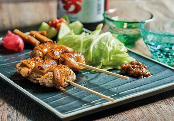 串燒薩摩赤雞腿肉 $32