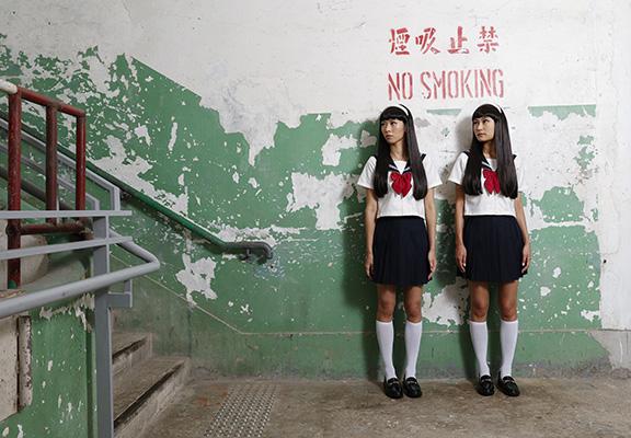 南豐紗廠以富江到臨紗廠為主題拍攝展覽宣傳照。