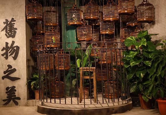 新舊香港碰撞的藝術作品—「林民籠」