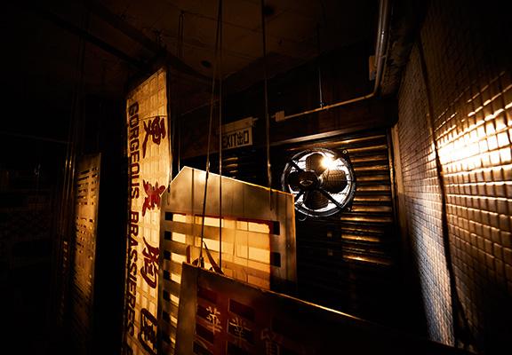 新舊香港碰撞的藝術作品—「融」