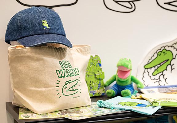 今個夏天帶著鱷魚君去郊遊吧!